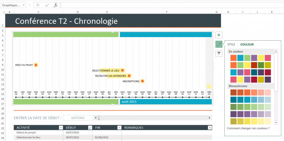 Modèle De Chronologie Pour Excel 2010 Sopahaquajo Tk