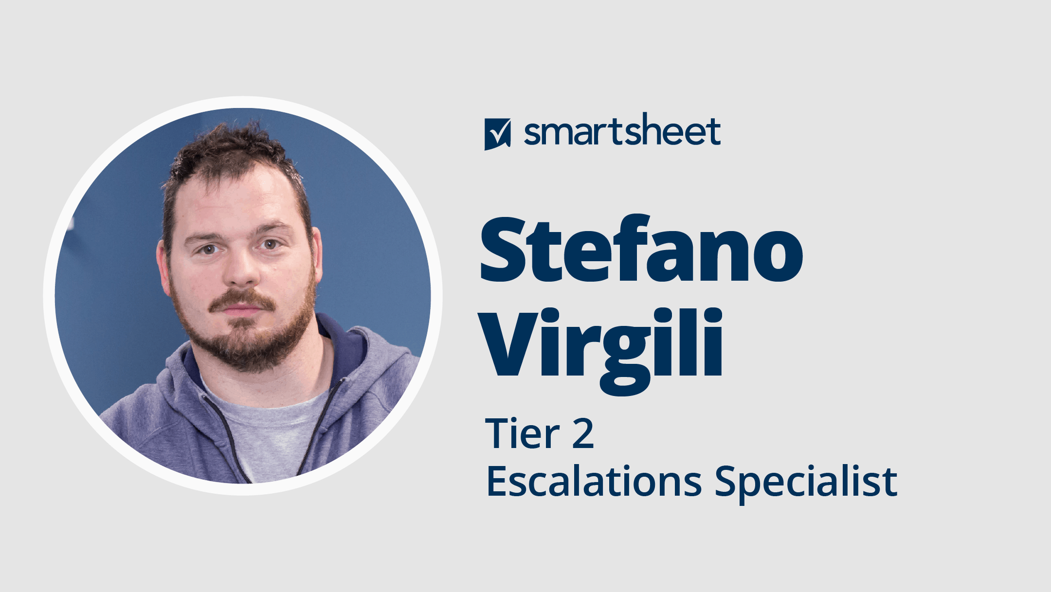 Headshot of Stefano Virgili Tier 2 Escalations Specialist