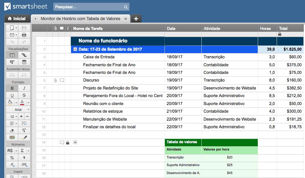 Modelos De Planilhas Para Gestão De Projetos No Excel